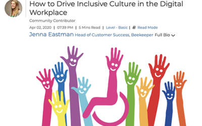 How to Drive Inclusive Culture in the Digital Workplace
