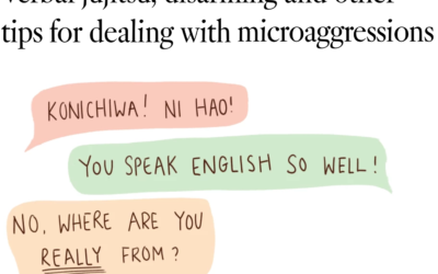 Verbal Jujitsu, Disarming and Other Tips for Dealing with Microaggressions